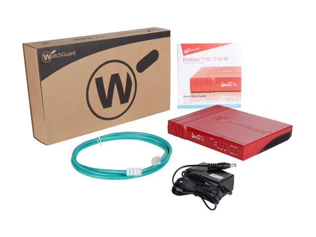 WatchGuard Firebox T10 Network Security/Firewall Appliance (1 YR LiveSecurity) photo