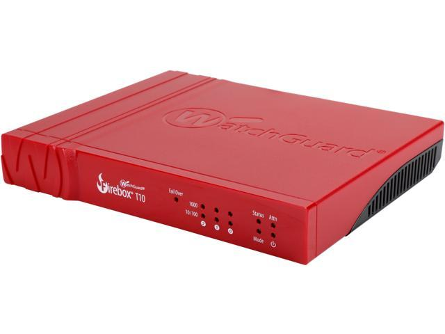 WatchGuard Firebox T10 Network Security/Firewall Appliance (3 YR LiveSecurity) photo