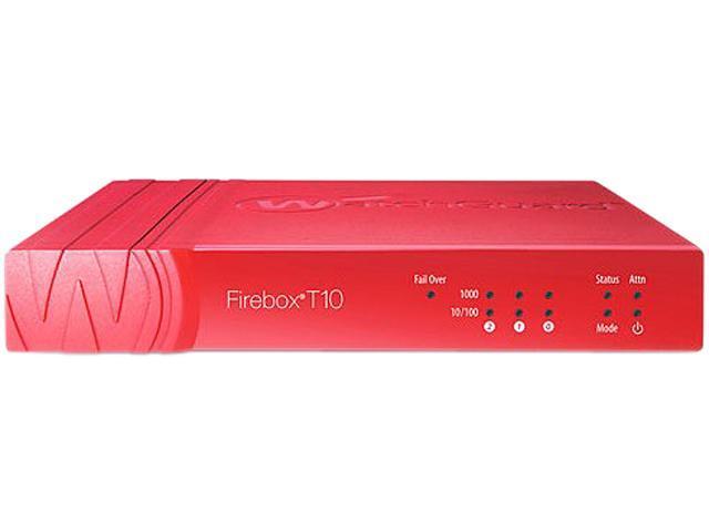 WatchGuard Firebox T10 Network Security/Firewall Appliance (3 YR UTM Suite) photo