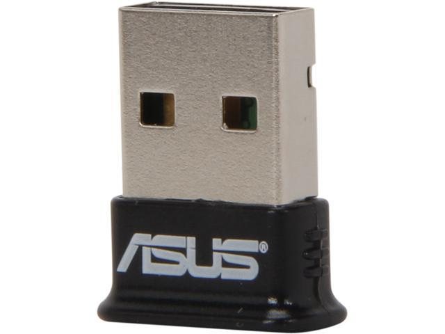 ASUS USB-BT400 USB Adapter w/ Bluetooth Dongle Receiver, Laptop & PC Support, Windows 10 Plug and Play /8/7/XP, Printers, Phones, Headsets.