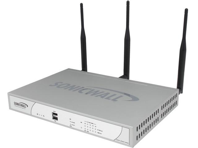 SonicWall 01-SSC-9748 VPN Wired + Wireless Network Security Appliance 250M Wireless-N TotalSecure photo