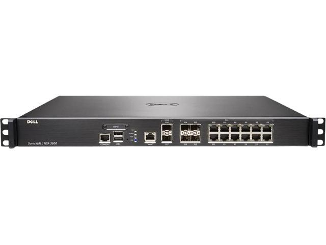 SonicWall 01-SSC-4271 Wired NSA 3600 Network Security Appliance photo