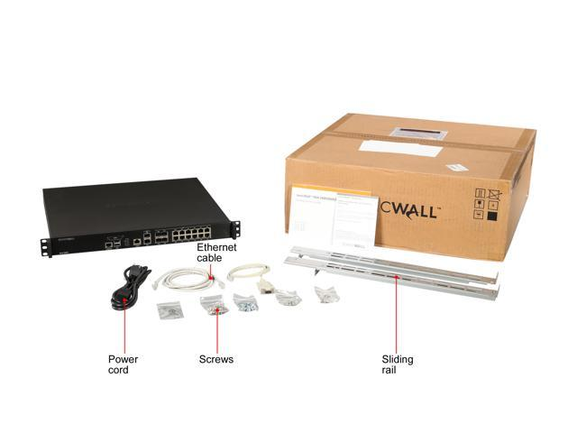 SonicWall 01-SSC-4270 VPN Wired NSA 3600 Secure Upgrade Plus Security Appliance photo