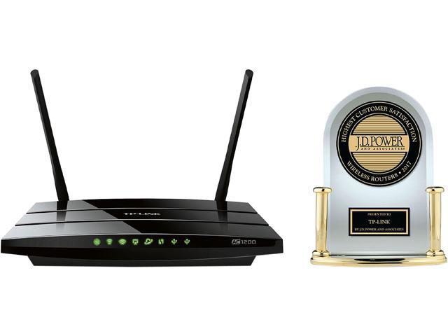 TP-LINK Archer C5 AC1200 Dual Band Wireless AC Gigabit Router, 2.4