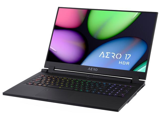 Open Box - GIGABYTE AERO 17 HDR XB-8US4450SP Gaming Laptop Intel Core i7-10875H 2.30 GHz 17.3' 4K/UHD Windows 10 Pro 64-bit