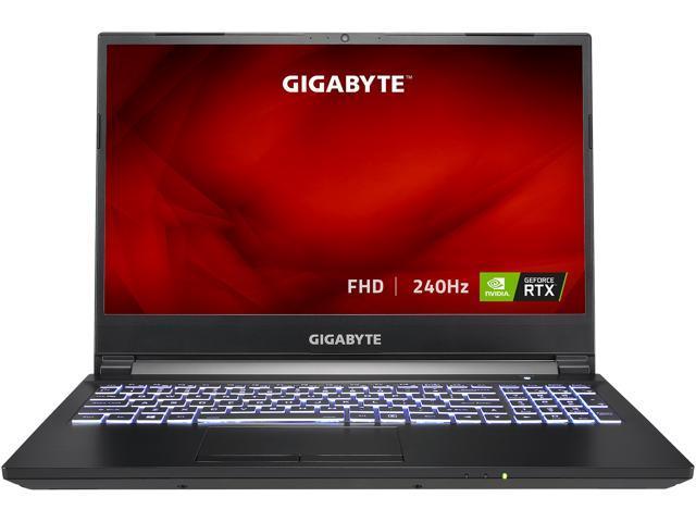 GIGABYTE A5 X1 – 15.6″ FHD IPS Anti-Glare 240Hz – AMD Ryzen 9 5900HX – NVIDIA GeForce RTX 3070 Laptop GPU 8 GB GDDR6 – 16 GB Memory – 512 GB PCIe SSD – Windows 10 Home – Gaming Laptop (A5 X1-CUS2130SH)