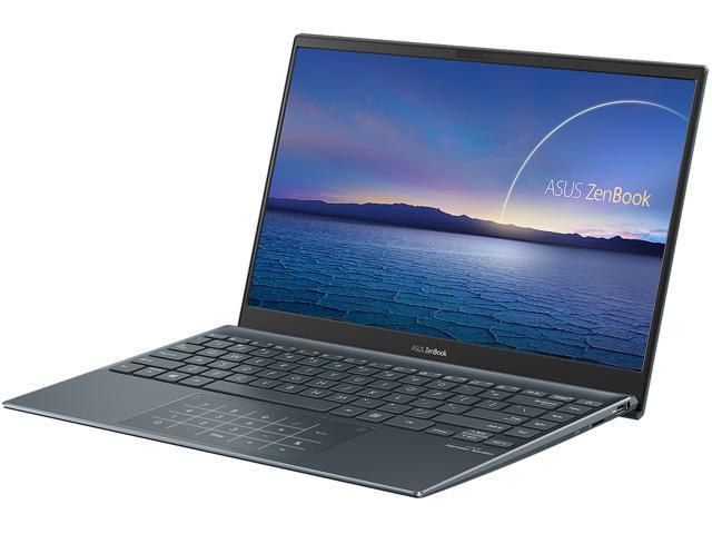 ASUS ZenBook 13 Ultra-Slim Laptop, 13.3' FHD NanoEdge Bezel Display, Intel Core i7-1065G7, 8GB LPDDR4X RAM, 512GB PCIe SSD, NumberPad, Thunderbolt.