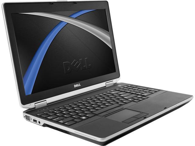 Recertified - DELL Laptop E6530 Intel Core i5 3rd Gen 3210M (2.50 GHz) 8 GB Memory 256 GB SSD 15.6' Windows 10 Pro 64-Bit