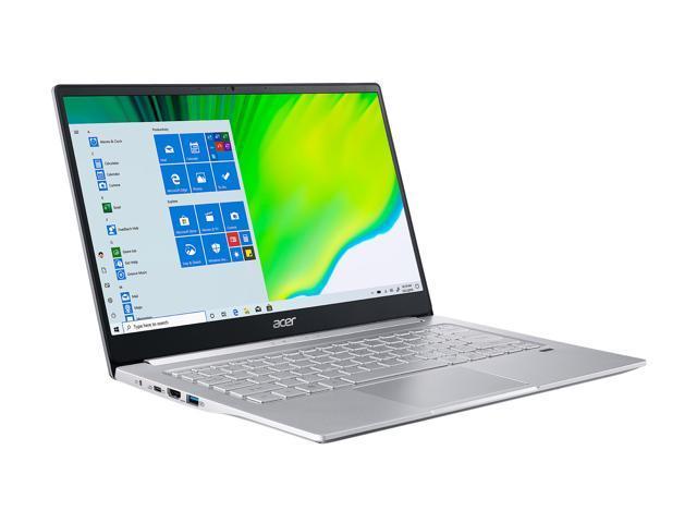 Acer Laptop Swift 3 SF314-42-R7LH AMD Ryzen 5 4000 Series 4500U (2.30 GHz) 8 GB LPDDR4 Memory 256 GB SSD AMD Radeon Graphics 14.0' Windows 10 Home.