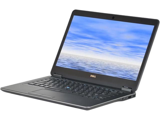 Recertified - DELL Laptop E7440 Intel Core i7 4th Gen 4600U (2.10 GHz) 8 GB Memory 256 GB SSD 14.0' Windows 10 Pro 64-Bit