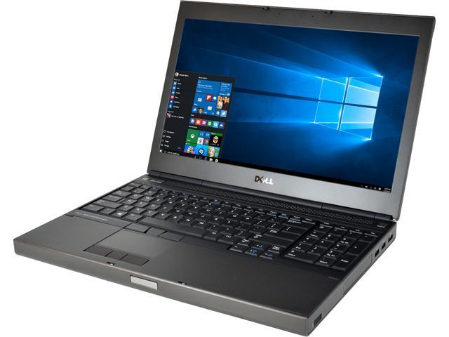 Recertified - DELL Laptop M4800 Intel Core i7 4th Gen 4800MQ (2.70 GHz) 16 GB Memory 500 GB SSD 15.6' Windows 10 Pro 64-Bit