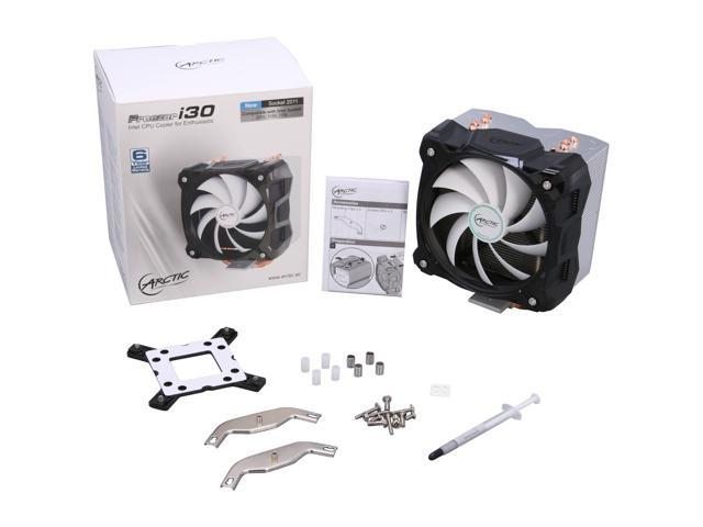 ARCTIC COOLING ACFZI30 120mm Fluid Dynamic Freezer i30 Intel CPU Cooler for Enthusiasts photo