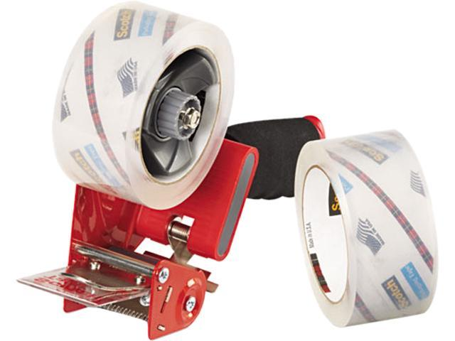 Scotch 3850-2ST Packaging Tape Dispenser with Two Rolls of Tape, 1.88' x 54.6 yds. photo