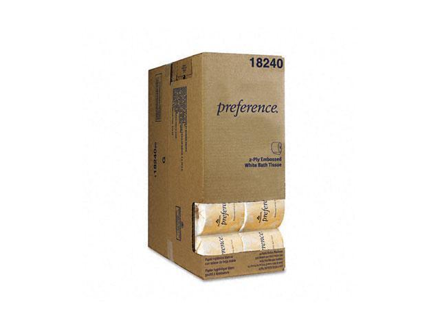 Georgia Pacific 1824001 Preference Embossed Bath Tissue