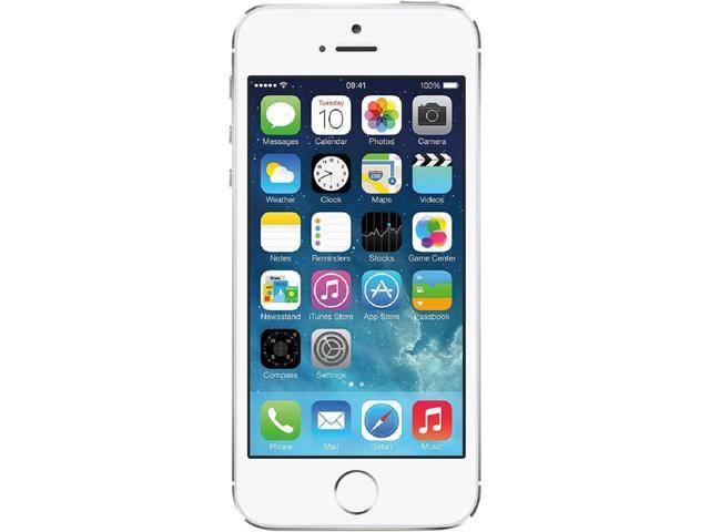 Recertified - Apple iPhone 5s 4G 16GB Unlocked GSM Phone Certified Refurbished 4.0' White/Silver 16GB 1GB RAM DDR3 RAM