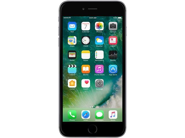 Recertified - Apple iPhone 6s Plus 4G LTE A GRADE Unlocked Cell Phone 5.5' Black 16GB 2GB RAM