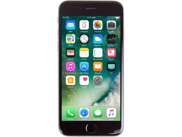 Recertified - Apple iPhone 6s 4G LTE Unlocked GSM Phone w/ 12 MP Camera 4.7' Space Gray 128GB 2GB RAM
