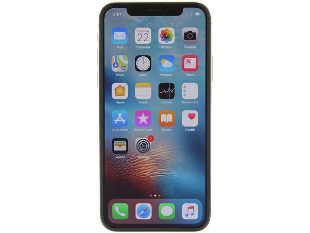 Apple iPhone X 4G LTE Unlocked GSM Phone w/ Dual 12 MP Camera - (Used) 5.8' Silver 256GB 3GB RAM