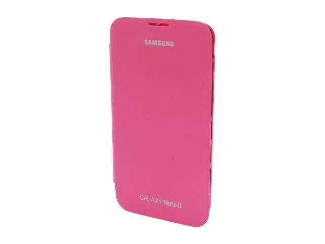 SAMSUNG Pink Flip Cover For Galaxy Note 2 EFC-1J9FPEGSTA photo