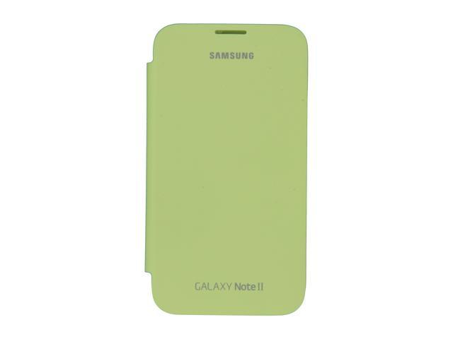 SAMSUNG Lime Green Flip Cover For Galaxy Note 2 EFC-1J9FMEGSTA photo