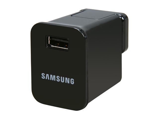 SAMSUNG ETA-P10JBEGSTA Black Travel Charger For Galaxy Tab photo