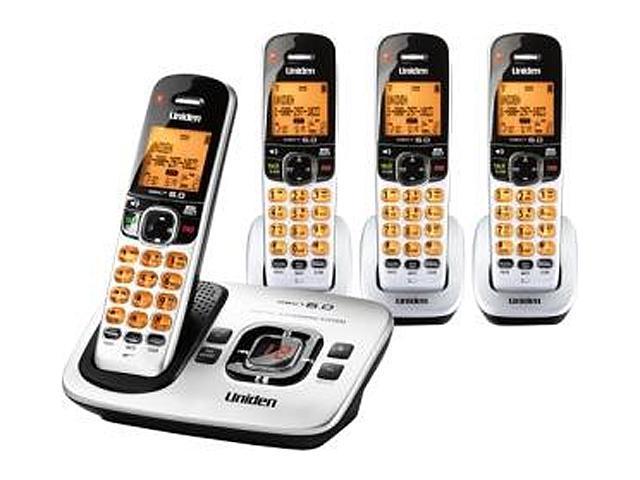 Uniden D1780-4 Cordless Phone w/ Digital Answering Machine & 3 Handsets (050633275146 Electronics Communications Telephony) photo