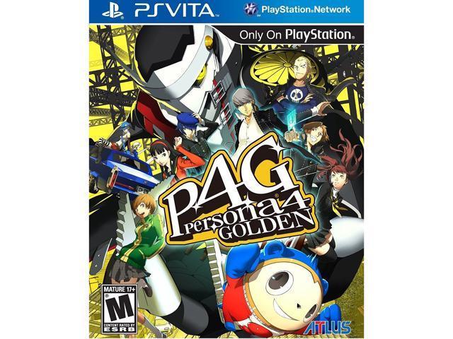 Persona 4 Golden PS Vita Games