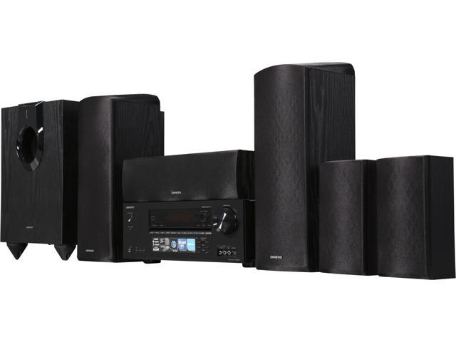 Image of Onkyo HT-S5800 5.1.2 Channel Dolby Atmos Home Theater System W/ Bluetooth