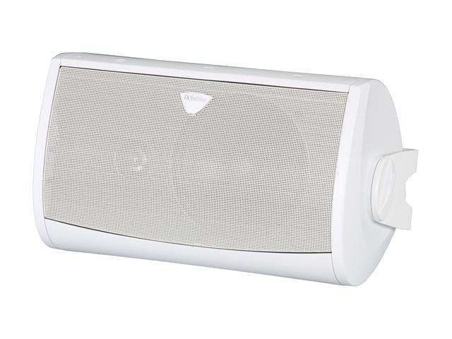 Definitive Technology All-Weather AW6500 Ultra-Performance All Weather Speaker with Bracket (White) Single (093207057342 Electronics Audio Home Theater Systems) photo