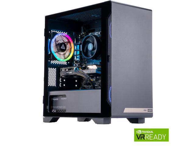MEK HERO G1 A5636 Gaming Desktop Powered By Zotac – Ryzen 5 5000 Series 5600X (3.70 GHz) NVIDIA GeForce RTX 3060 12 GB Dual-Channel 16 GB DDR4 1 TB HDD 500 GB PCIe NVMe SSD Windows 10 Home 64-bit