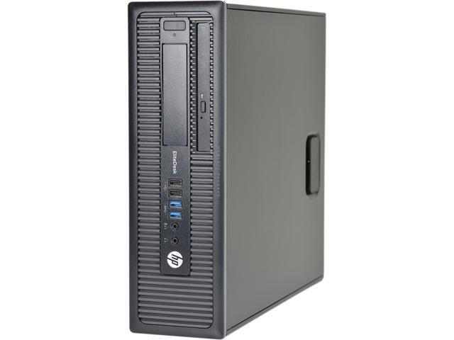 Recertified - HP Desktop Computer Elitedesk 800 G1-SFF Intel Core i5 4th Gen 4570 (3.20 GHz) 8 GB DDR3 500 GB HDD Windows 10 Pro 64-Bit
