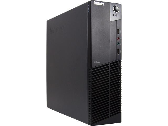 Recertified - Lenovo Desktop Computer M81-SFF Intel Core i5 2nd Gen 2400 (3.10 GHz) 4 GB 250 GB HDD Windows 10 Pro 64-Bit
