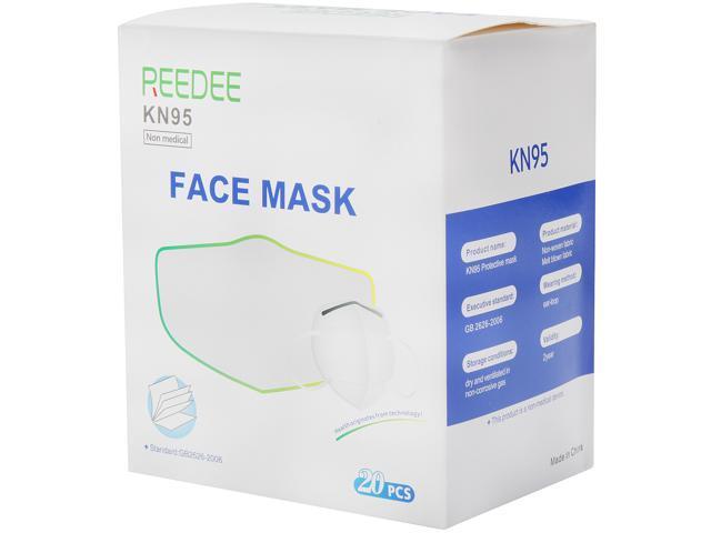REEDEE KN95 Face Mask, 20 pcs per Box