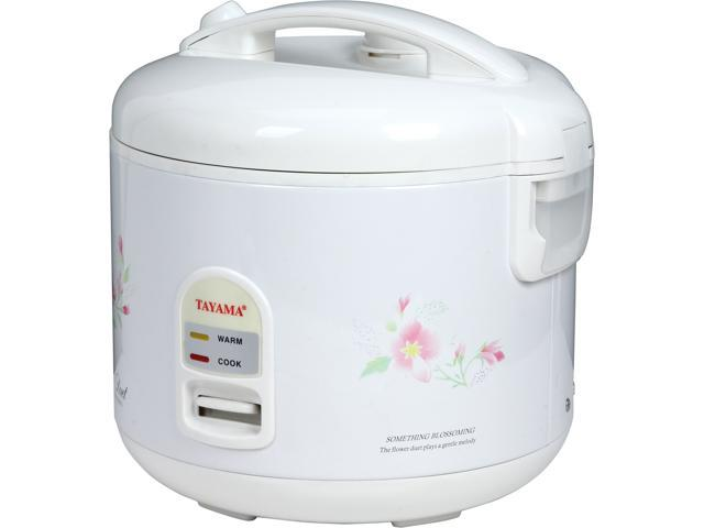 Tayama TRC-10 White Cool Touch Electronic Rice Cooker photo