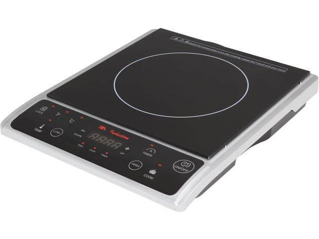 Supentown SR-964TS 1300W Induction Cooktop, Silver photo