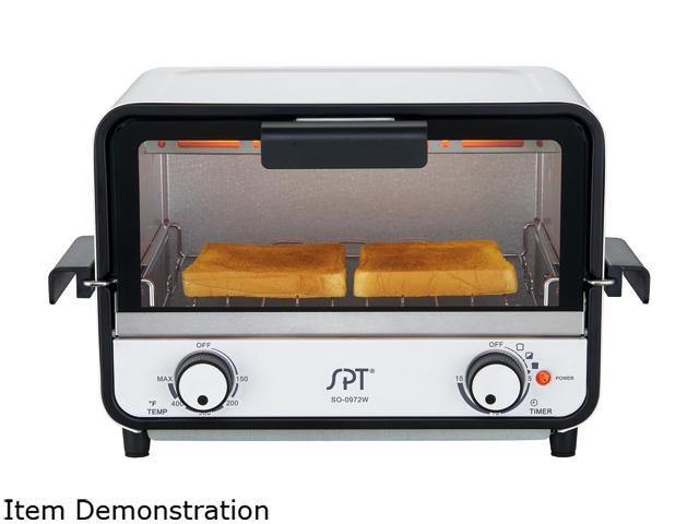 Sunpentown Easy Grasp 2-Slice Countertop Toaster Oven SO-0972W photo