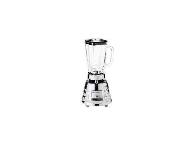 Oster 4093 Chrome 40 oz. 5-Cup Glass Jar 2-Speed Beehive Blender, Brushed Stainless photo