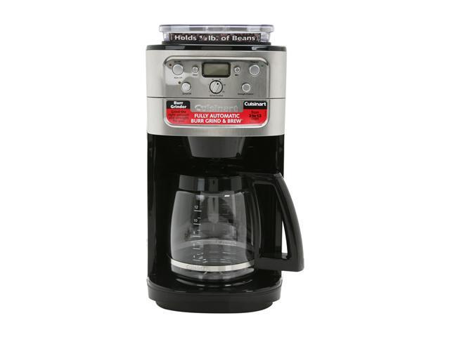 Cuisinart DGB-700BC Chrome Grind & Brew 12-Cup Automatic Coffeemaker photo