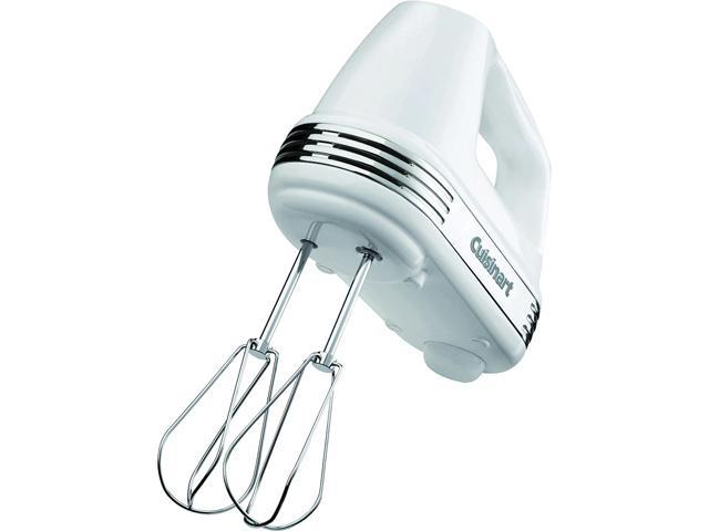 Cuisinart HM-70 Power Advantage 7-Speed Hand Mixer, Stainless and White photo