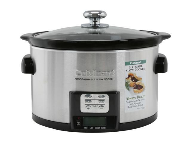 Cuisinart PSC-350 3-1/2-Quart Programmable Slow Cooker photo