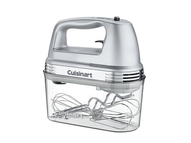 Cuisinart HM-90BCS Power Advantage PLUS 9-Speed Hand Mixer with Storage Case Silver photo