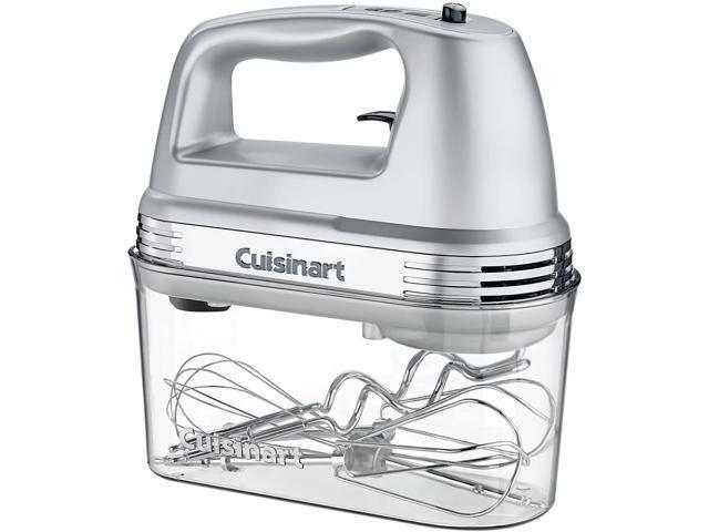Cuisinart HM-90BCS Power Advantage PLUS 9-Speed Hand Mixer with Storage Case Silver photo