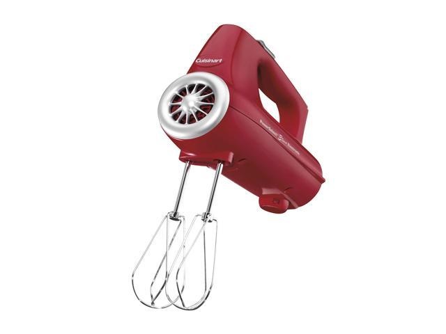Cuisinart CHM-3R PowerSelect 3-speed 220-watt Electronic Hand Mixer, Red photo