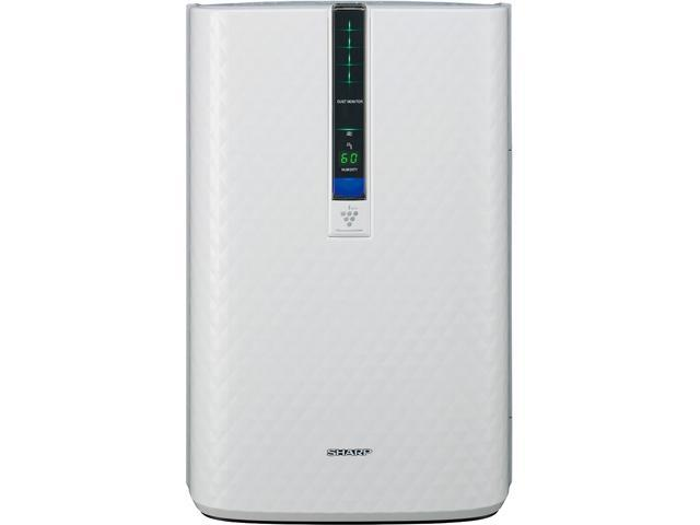 Sharp kc-850u triple action plasmacluster air purifier with humidifying function (254 sq. Ft. )
