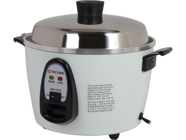 TATUNG Multi-Functional Cooker and Steamer, White, 12 Cups cooked//6 Cups uncooked, TAC-06G(SF) photo