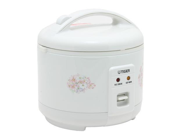 TIGER JNP-0550 White 3 cups Electronic Rice Cooker - warmer photo
