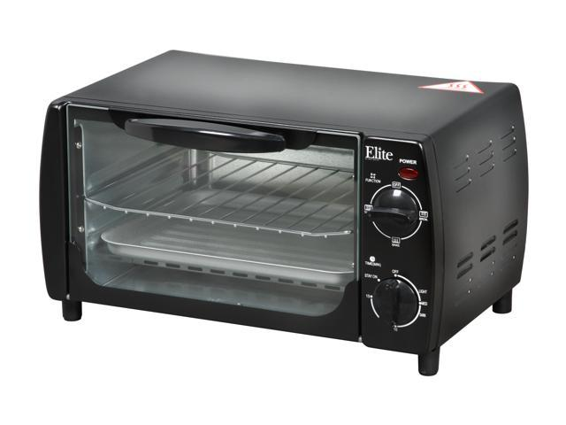 Maxi-Matic EKA-9210B Black Elite Cuisine 4-Slice Toaster Oven Broiler photo