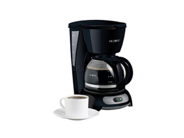 MR. COFFEE TF5 Black 4-Cup Switch Coffee Maker photo