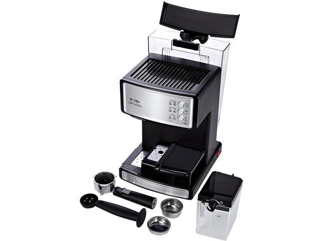 Mr. Coffee BVMC-ECMP1000-RB Cafe Barista Espresso Maker, Silver photo