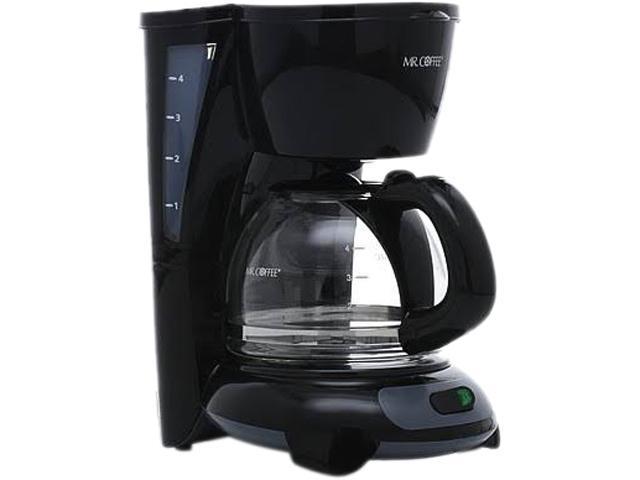 MR. COFFEE TF5GTF-RB Black Simple Brew 4-Cup Switch Coffee Maker photo